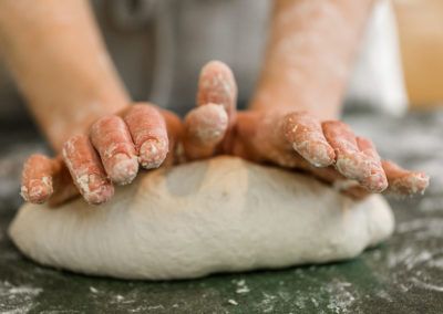 hands-and-dough